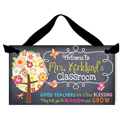 amazon com toad and lily teacher chalkboard classroom with teachers