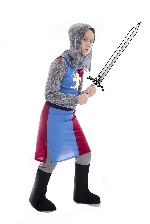 07067b025ab Amazon.com  Boo! Inc Noble Knight Children s Dress Up   Halloween Costume