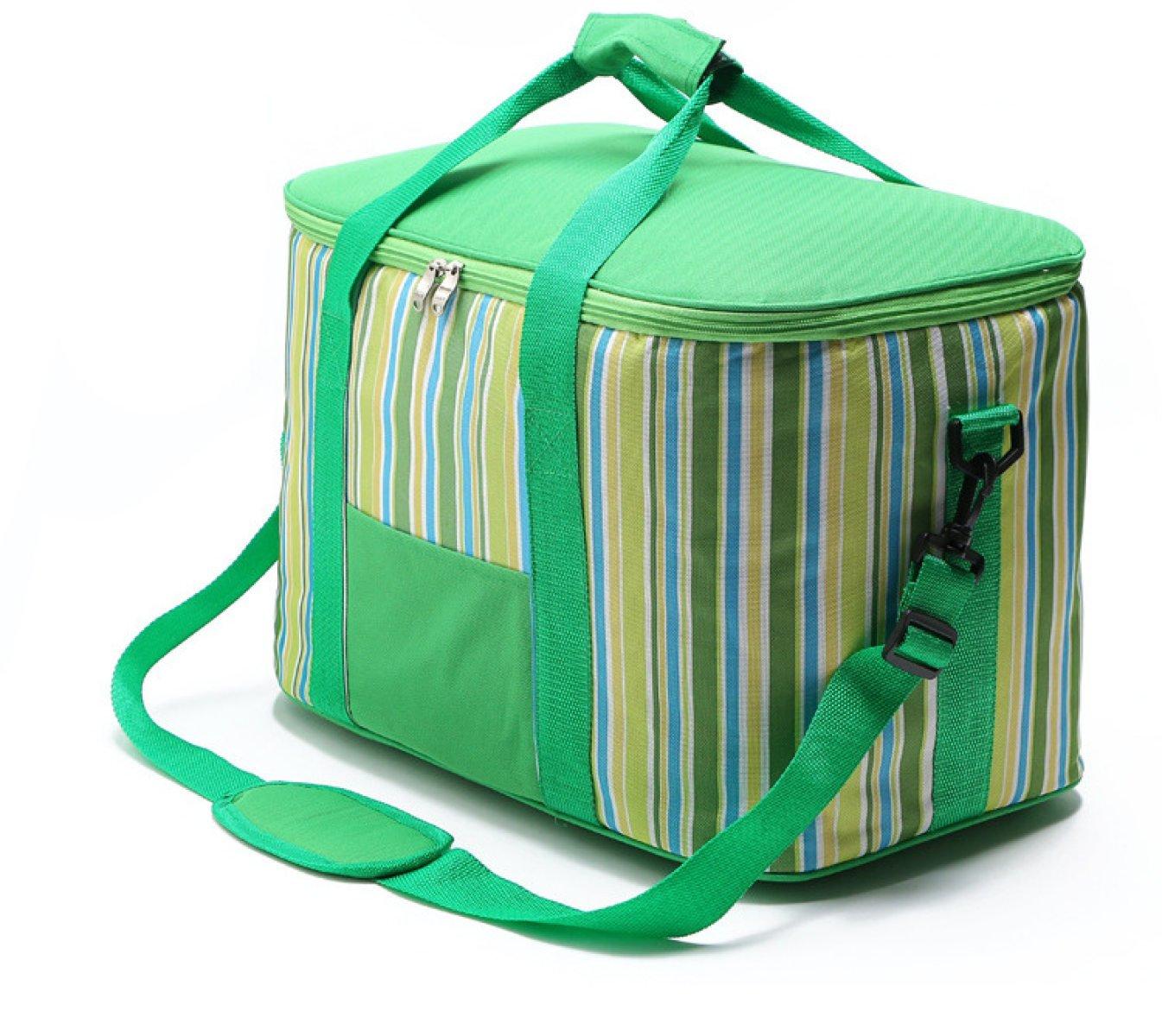 Tragbare Eisbeutel Polyester Dichte Isolierung Paket Outdoor-Picknick-Taschen Snack-Beutel Auto