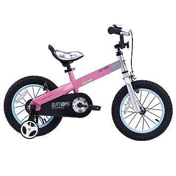 Royal Baby - Bicicleta Infantil con Botones y Miel, Ruedas de 12 ...