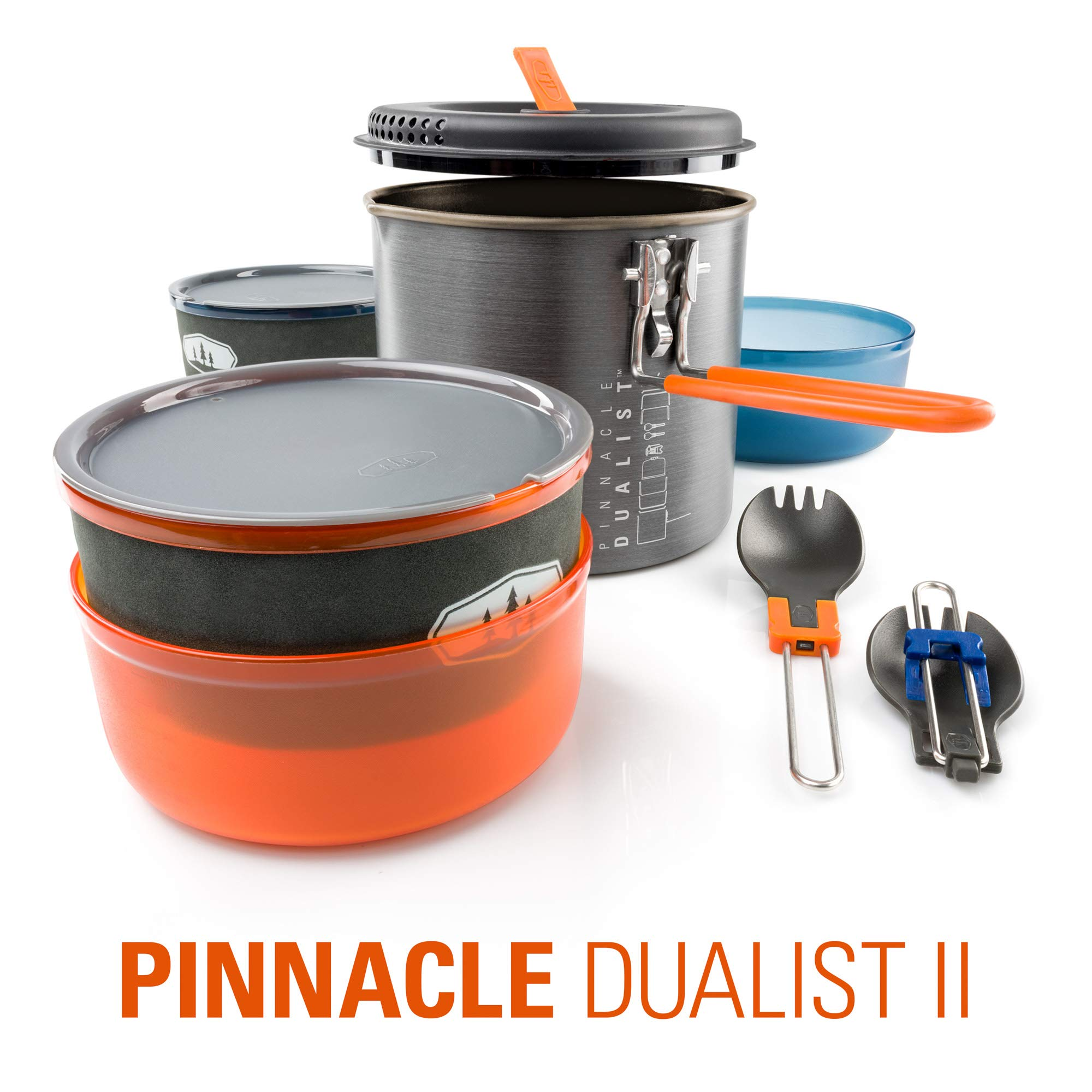 GSI Outdoors - Pinnacle Dualist II, Camping Cook Set, Superior Backcountry Cookware Since 1985 by GSI Outdoors