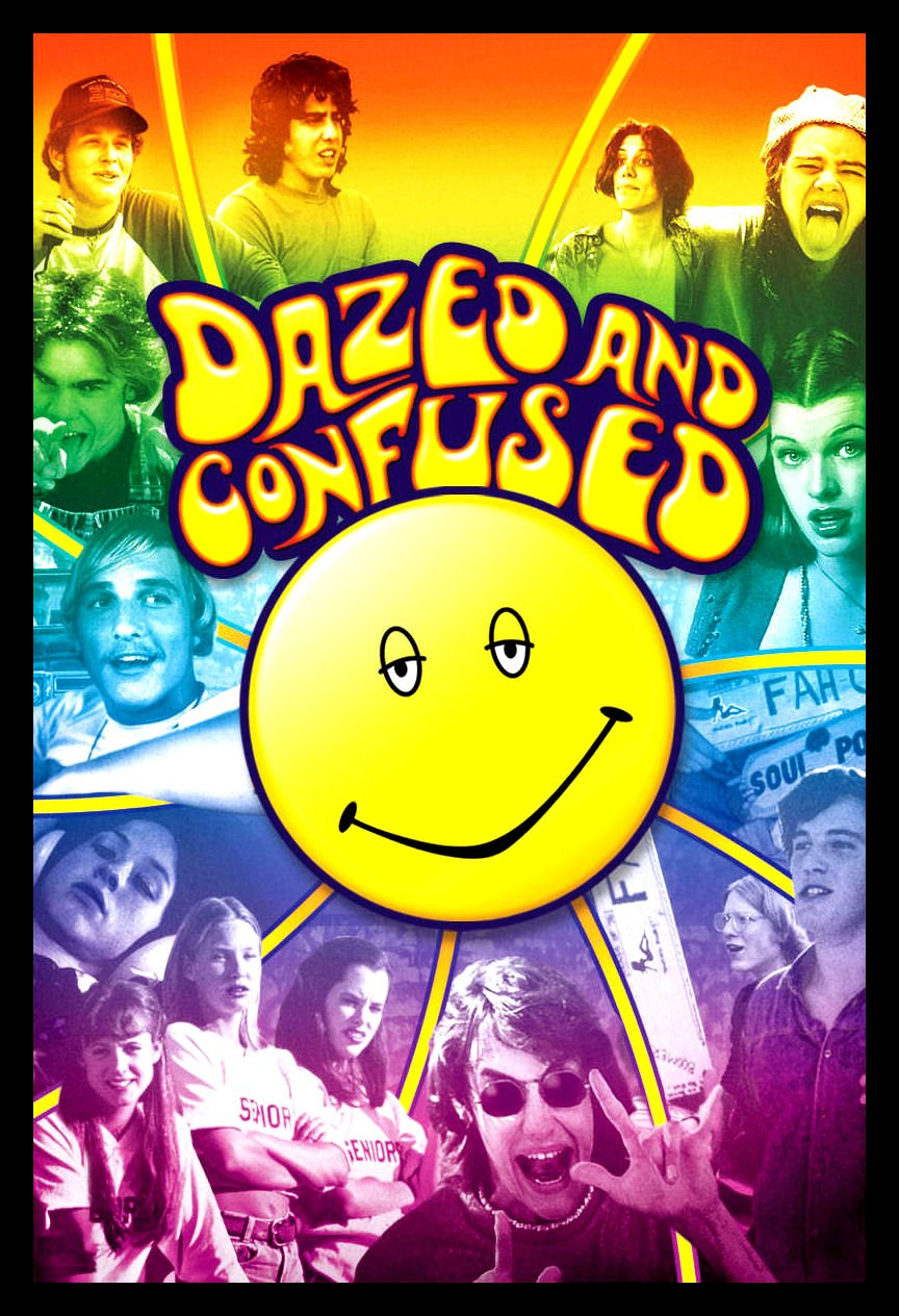Dazed and Confused Fridge Magnet 3.5 x 5 Movie Poster Magnetic Canvas Print