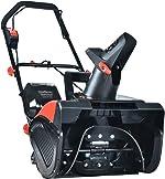 PowerSmart Snow Blower, 40V 4.0 Ah Lithium-Ion Battery Powered Snow Blower,