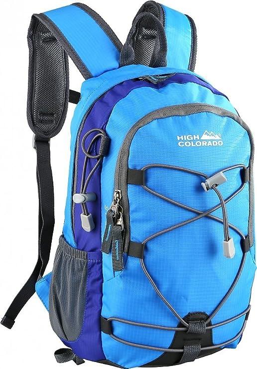 McKinley Kinder Wanderrucksack Freizeit-Rucksack Daybag Amarillo 15 blau orange