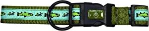 Hamilton Outdoorsman Collection Dog and Duck Pattern Adjustable Dog Collar