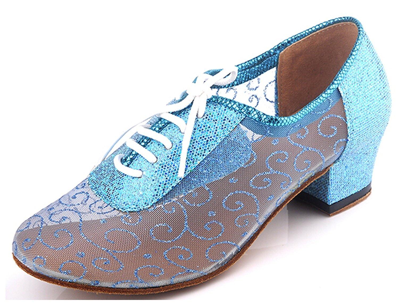 Minitoo QJ9005 en dentelle pour femme Salsa Motif Tango filet écoles Latin Mariage Soirée danse-chaussures HK TIANHE TIMES
