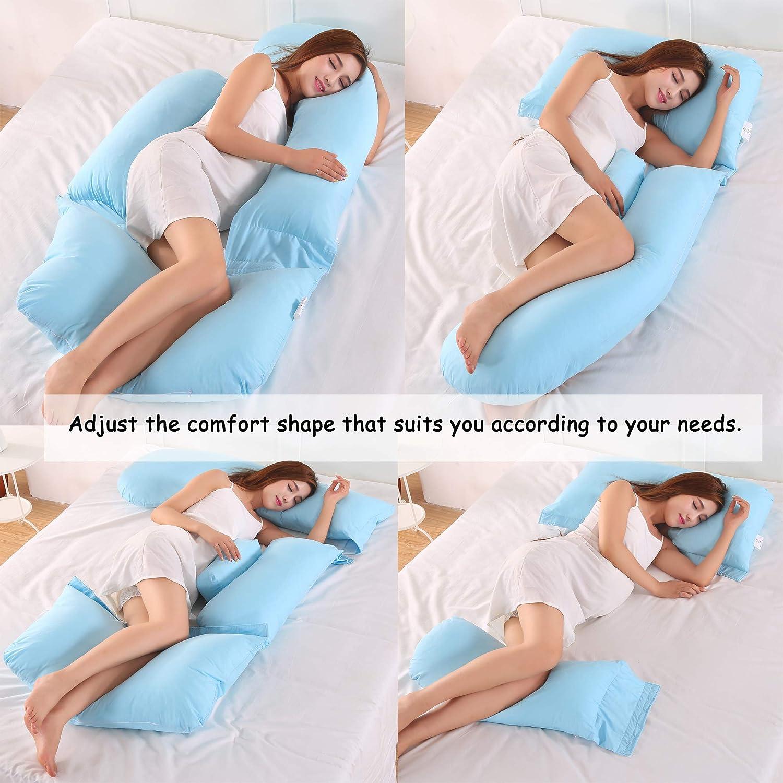 AEIL g-form-kissen schwangere frau side schlaf sleeper removable multifunktionale taille unterst/ützung quiet komfortables ergonomische mutterschaft lange kissen
