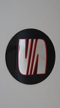 Juego de 4 pegatinas tapacubos para el coche con el logotipo de ...