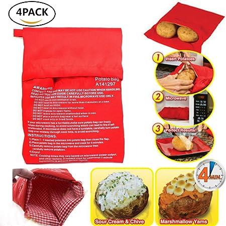 Bolsa de microondas para cocinar de patata, bolsa de microondas ...