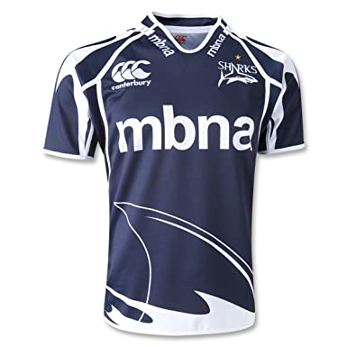 26c0f5a0571 Sale Sharks 2012/13 Home S/S Pro Rugby Shirt - size 3XL: Amazon.co ...