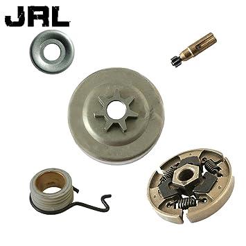 JRL Gusano de la Bomba de petróleo del Tambor de Embrague Engranaje Fit Stihl 017 018 021 023 025 Ms170 MS180 MS210: Amazon.es: Hogar