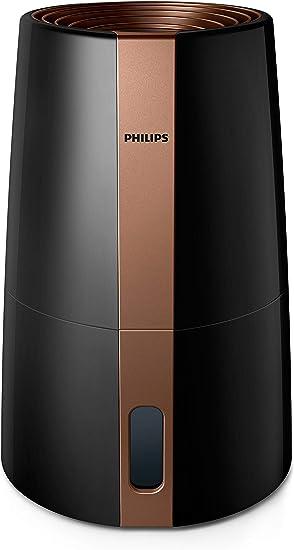 Philips Hu3918/10 - Humidificador (hasta 45 m2, tecnología higiénica NanoCloud, modo nocturno, modo automático ...