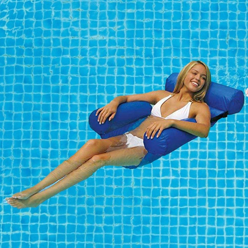 Inflatable Pool Lounger Air Sofa Hammock-Portable Waterproof and Leak-Proof Design-Ideal Sofa for Backyard Lakeside Beach Travel Camping Picnic