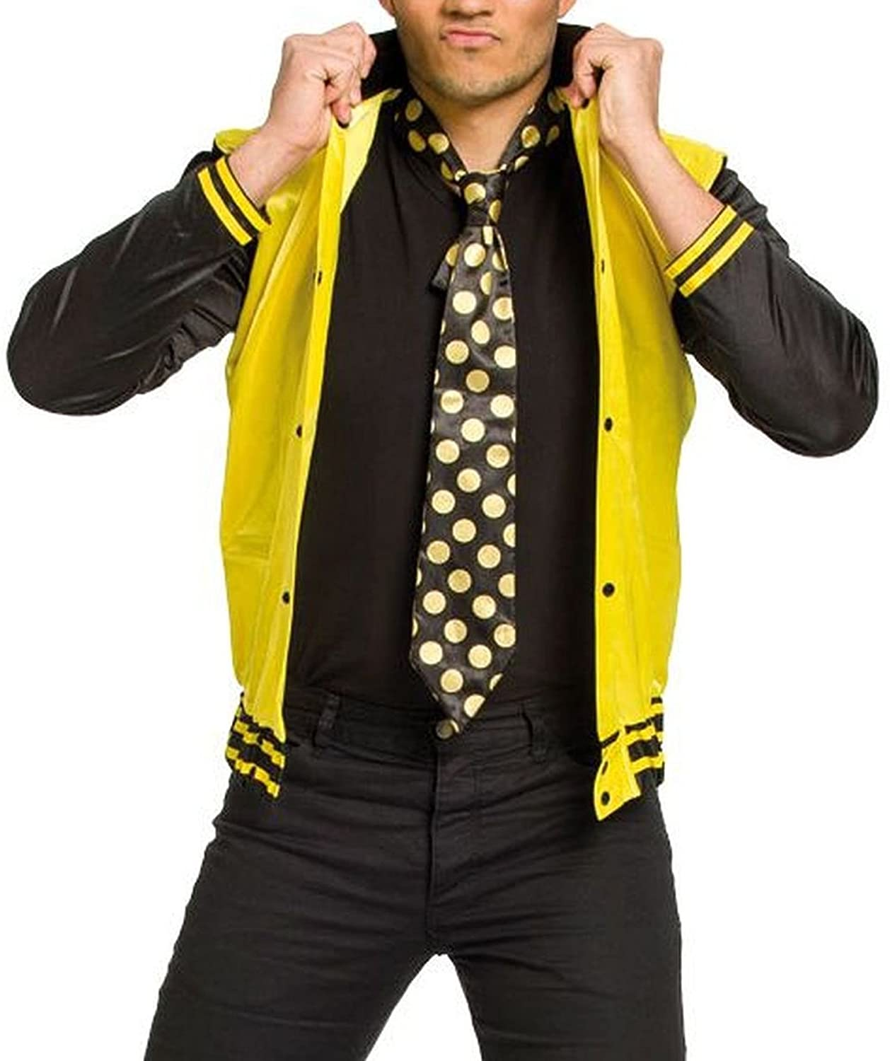 Folat – Adultos Disfraz Rock y Roll, chaqueta y corbata: Amazon.es ...