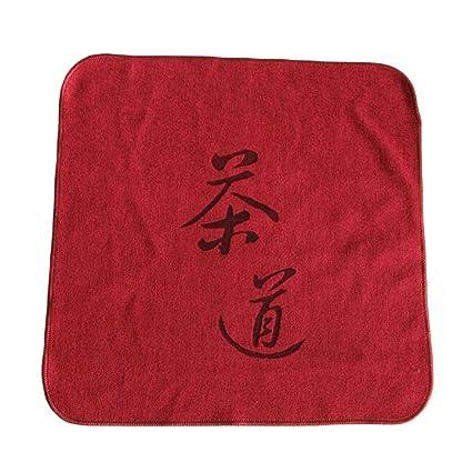Toallas de absorción de agua 3PCS Toallas de té de té de algodón Set de té