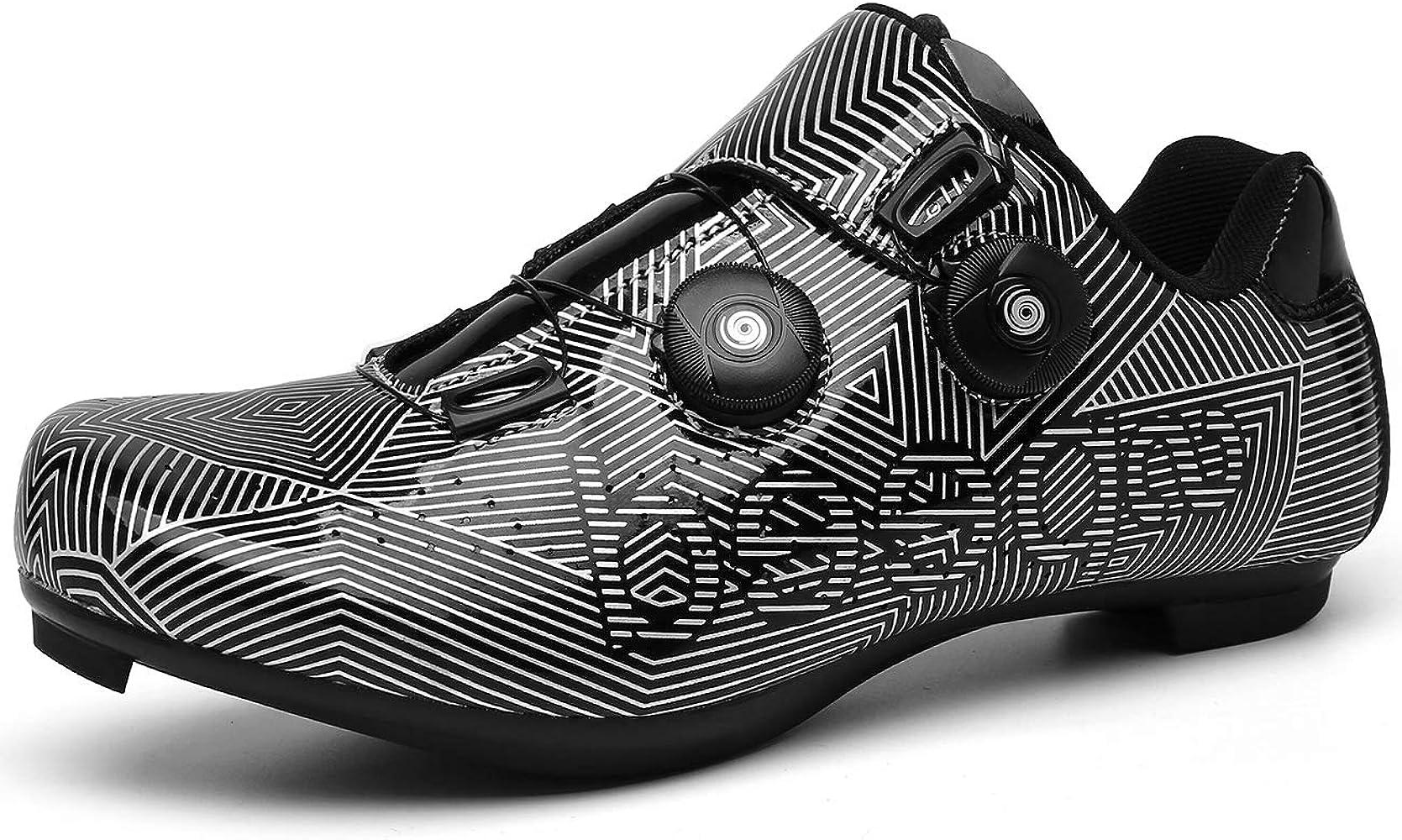 Cycling-Shoes Mens Road Bike Mountain