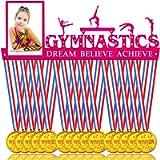 GradSport Gymnastics Medal Holder Display for 40 Medals