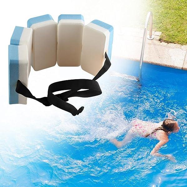 Adjustable Swimming Kickboard Kids Pool Buoyancy Training Aid Back Float S