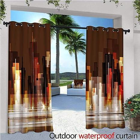 Circus Outdoor- Cortina de privacidad para exteriores con diseño ...