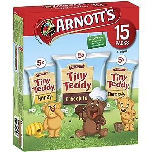 Arnott's Tiny Teddy Variety 15 Pack 375g