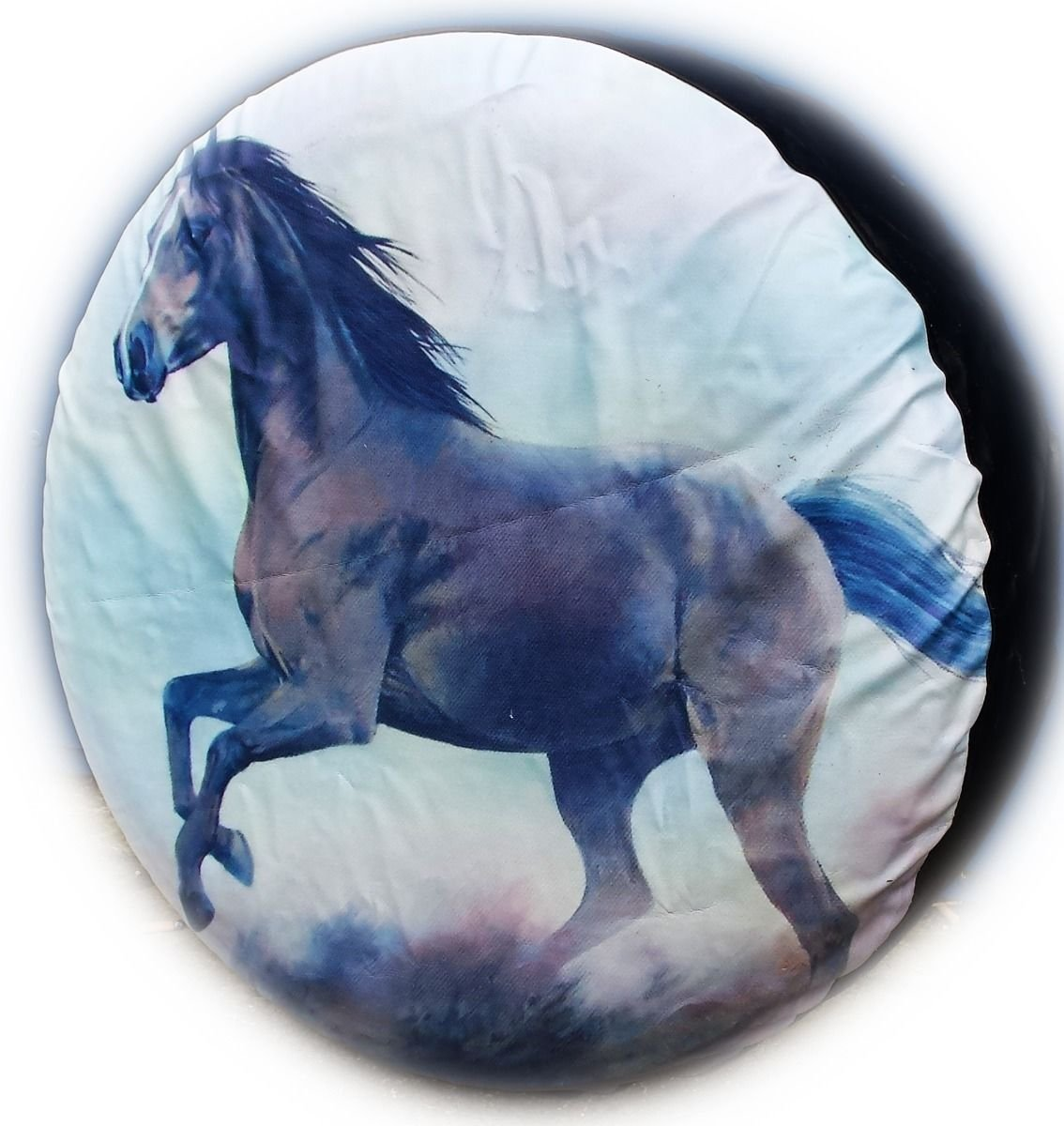 WHEEL COVER WHEELCOVER SPARE TYRE TIRE 4X4 HORSE FOR ALL SIZES BargainworldUK