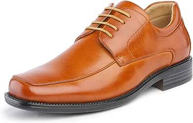 Bruno Marc Goldman-01 Zapatos de Cordones Vestir Negocios Clásicos para Hombre