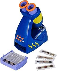 Educational Insights GeoSafari Jr. Talking Microscope, Featuring Bindi Irwin - Microscope for Kids, STEM Toy