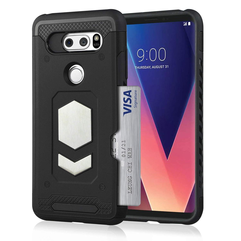 the latest ba14c e32b1 Amazon.com: Zater Case Compatible with LG V30 Heavy Duty Shockproof ...