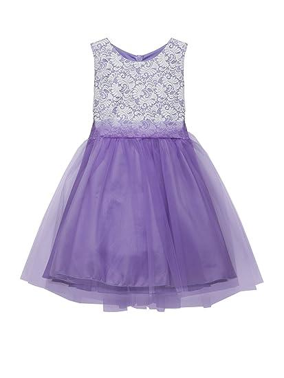 Amazon.com: Kid\'s Dream Big Girls Lavender Lace Plus Size ...