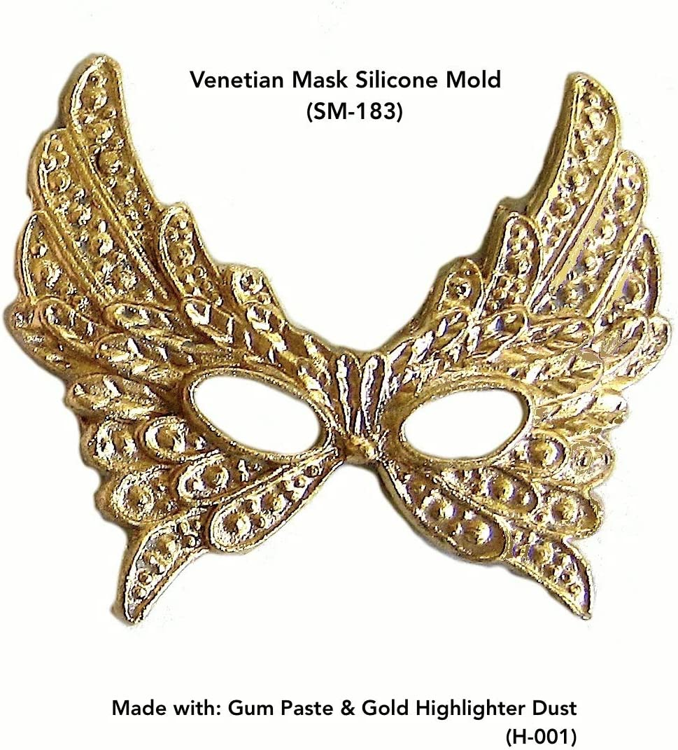 silicone molds masks Venetian small models for fimo wepam