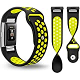 Bepack Fitbit Charge 2 Correa,TPU Suave Silicona Adjustable Sport Strap de Reemplazo Banda para Fitbit Charge 2 Fitness Wristband