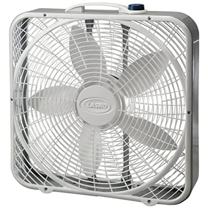 amazon com lasko 3723 20 inch premium box fan 3 speed home kitchen rh amazon com Lakewood Box Fan Lakewood Box Fan