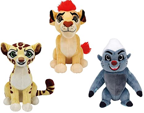 288d9998ffe Amazon.com  Ty Lion Guard Beanie Babies Plush - 3 Piece Set (Kion ...