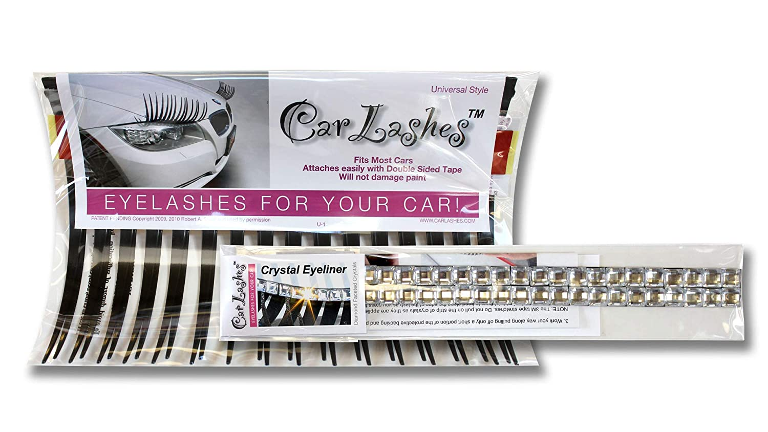 Carlashes Complete Set Classic Black and Clear