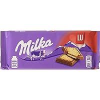 Milka - Tableta De Chocolate con Galleta Lu