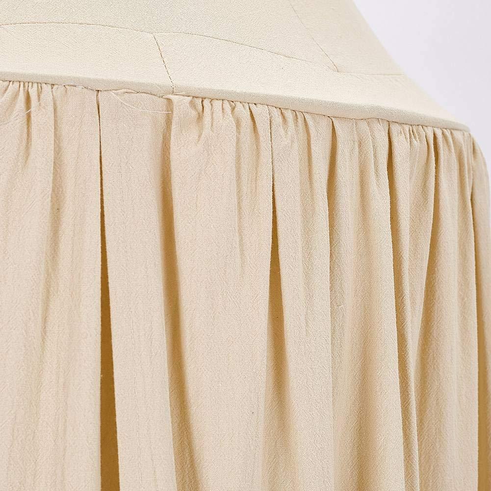 Children Bed Canopy BOBORA Baby Kids Room Decoration Play Tent Cotton Mosquito Net Children Princess Round Dome Height 240CM