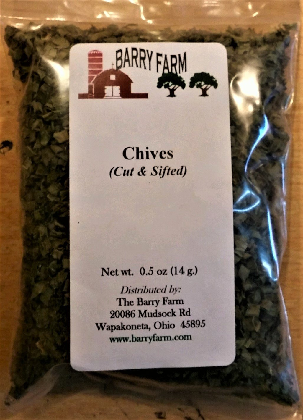 Chives, 1/2 oz.