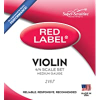 Super Sensitive Super Sensitive Steelcore 4/4 Violin Strings:Set (2107)