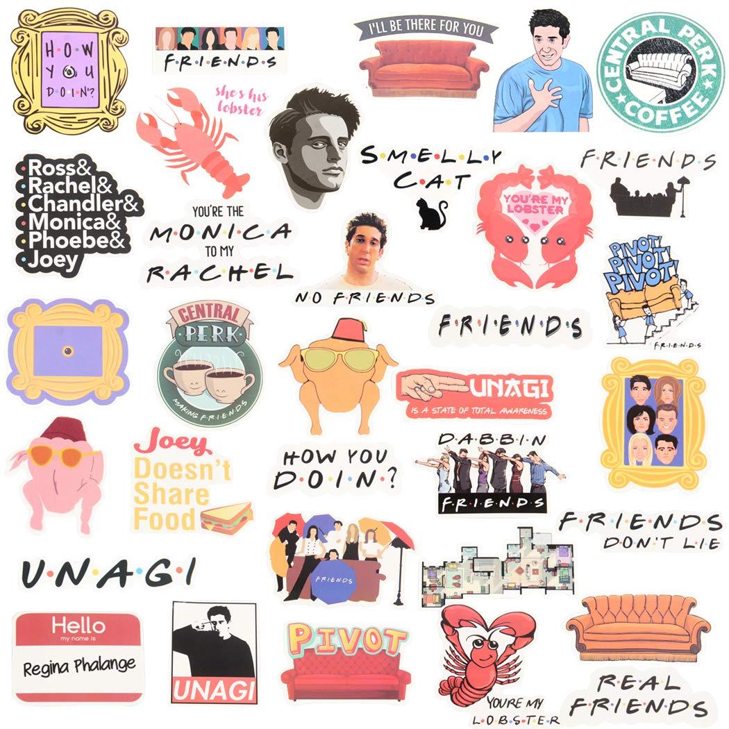 Stickers Calcos 34 un. Surtidos Origen U.S.A. (7PRZVQBK)