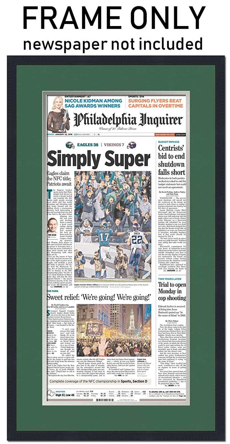 Amazon.com - The Philadelphia Inquirer Newspaper Frame - with ...