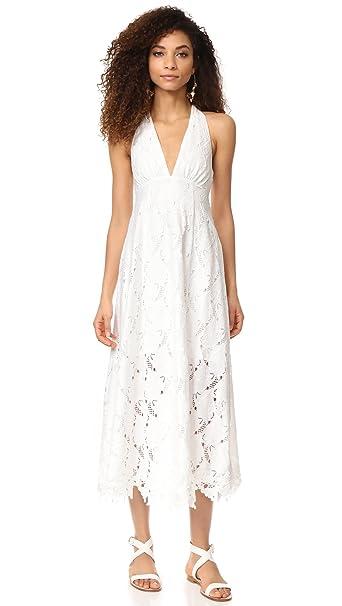 Bb Dakota Womens Rsvp Fiana Maxi Dress White 8 At Amazon