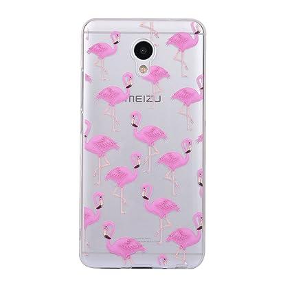 Funda Meizu M5 Note, CaseLover Carcasa para Meizu Blue Charm Note 5 Silicona Transparente Suave TPU Protectora Caso Ultra Delgado Flexible Gel Goma ...