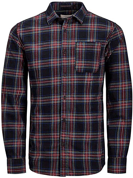 JACK JONES Camisa de Cuadros Legacy Hombre Camisas: Amazon.es: Deportes y aire libre