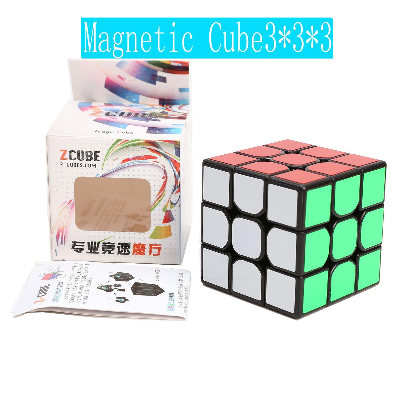 Z-Cube 磁石内蔵3x3x3キューブ ブラック ZCUBE ブラック Magnetic Magnetic ブラック ブラック B072VGBP2N, 激安二段ベッド&学習机専門店:aae0ebf0 --- m2cweb.com