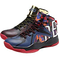 Elaphurus Men's Basketball Shoes Performance Shock Absorption Basketball Boots Trainer Sneakers