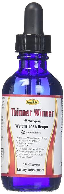 Amazon Com Thinner Winner Thermogenic Weight Loss Diet Drops