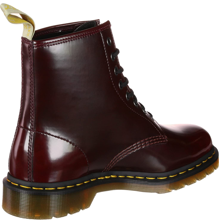 Dr. Martens Unisex-Erwachsene Vegan 1460 1460 1460 Klassische Stiefel, kirschrot 1ac106