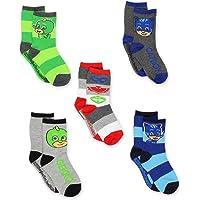 PJ Masks Boys Girls 6 Pack Socks (Toddler)