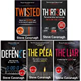 Eddie Flynn Series 5 Books Collection Set (Twisted ,Thirteen, The Defence, The Plea, The Liar)