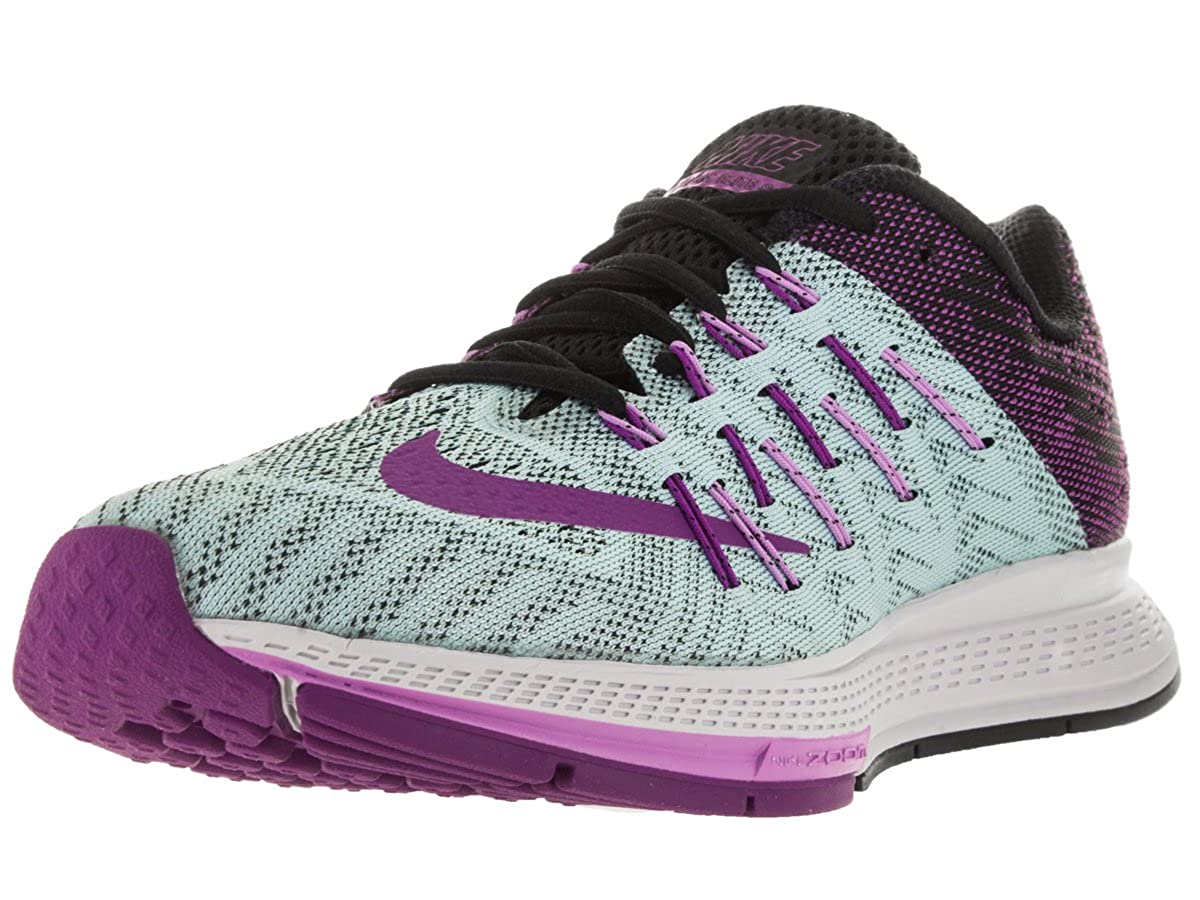 meet 799aa fba1d Nike Women s Air Zoom Elite 8 Copa Vivid Purple Blk FCHS GLW Running Shoe 7.  5 Women US  Amazon.in  Shoes   Handbags